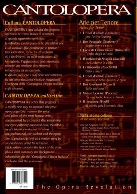 Cantolopera: Arie Per Tenore Vol. 1: Opera