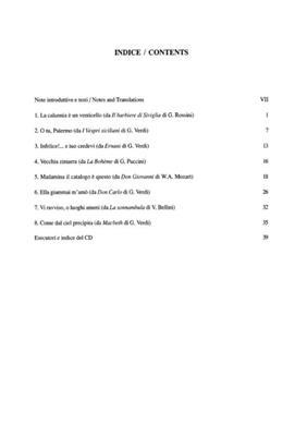 Cantolopera: Arie Per Basso Vol. 1: Opera