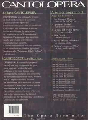 Cantolopera: Arie Per Soprano Vol. 3: Opera