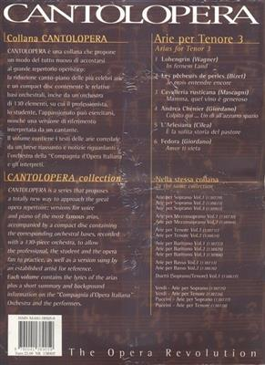 Cantolopera: Arie Per Tenore 3: Opera