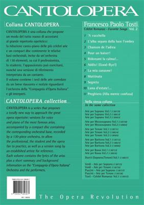 Francesco Paolo Tosti: Cantolopera: Celebri Romanze Vol. 2: Voice