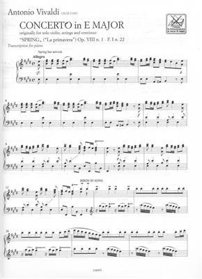 Antonio Vivaldi: The Four Seasons: Piano