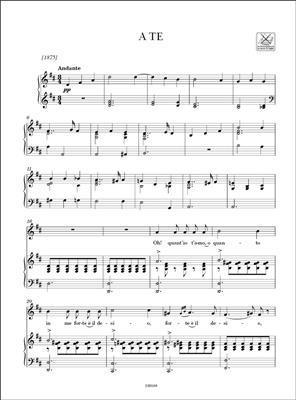 Giacomo Puccini: Composizioni vocali da camera: High Voice