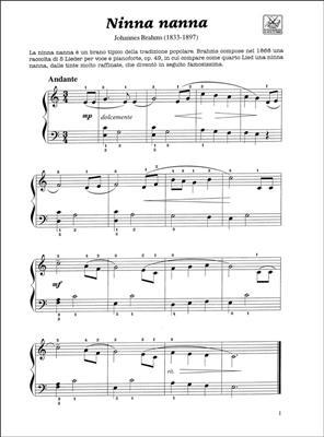 Primi Passi Sulla Tastiera Del Pianoforte: Piano