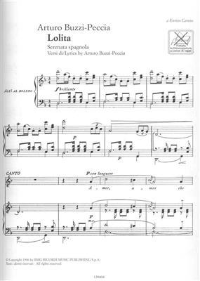 Liriche Del Novecento Italiano: Vocal
