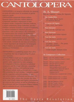 Wolfgang Amadeus Mozart: Cantolopera: Arie Per Soprano: Opera