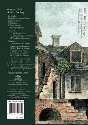 Vincenzo Bellini: Liriche - Art Songs: Soprano