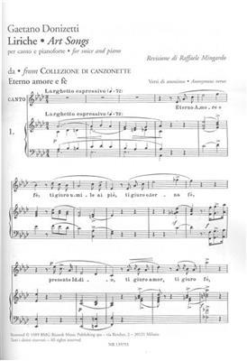 Gaetano Donizetti: Liriche - Art Songs: Voice
