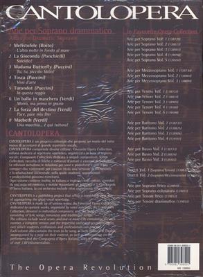 Various: Cantolopera: Arie Per Soprano Drammatico Vol. 1: Opera