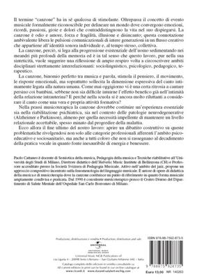 P. Cattaneo: La Canzone Come Esperienza Relazionale,: Books on Music