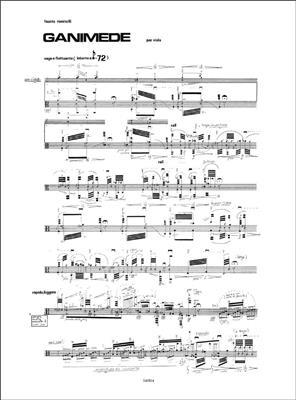 Fausto Romitelli: Ganimede: Viola
