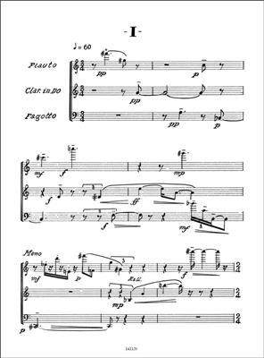 Ennio Morricone: Tre Poemi: Mixed Trio