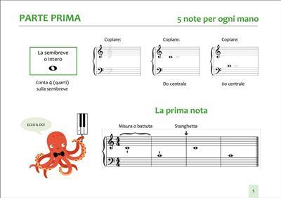 Carolyn Moretti: Poli il polipo - Introduzione al pianoforte: Piano or Keyboard