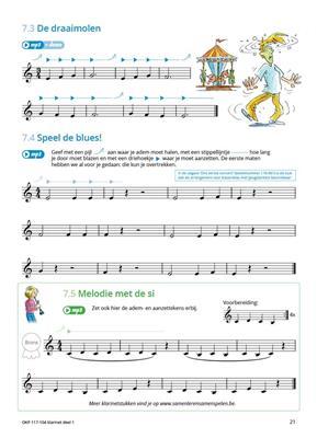Samen Leren Samenspelen Vlaams Deel 1: Clarinet