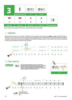 Samen Leren Samenspelen Vlaams Deel 1: Trombone