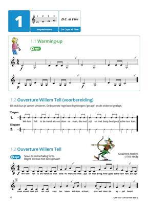 Samen Leren Samenspelen Vlaams Deel 2: Clarinet