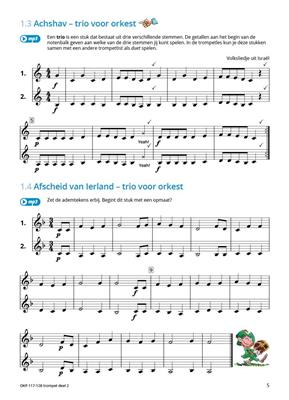 Samen Leren Samenspelen Vlaams Deel 2: Trumpet