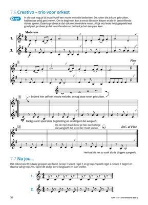 Samen Leren Samenspelen Vlaams Deel 2: Trombone