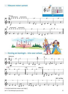 Samen Leren Samenspelen Vlaams Deel 2: Tuned Percussion