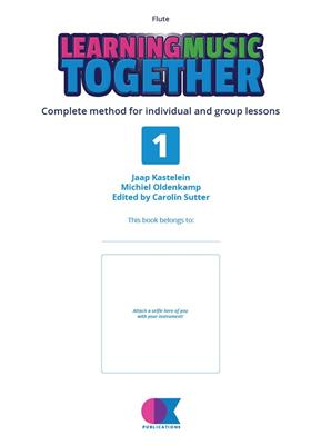 Learning Music Together Vol. 1: Flute