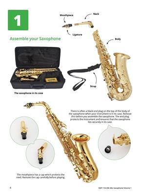Learning Music Together Vol. 1: Saxophone