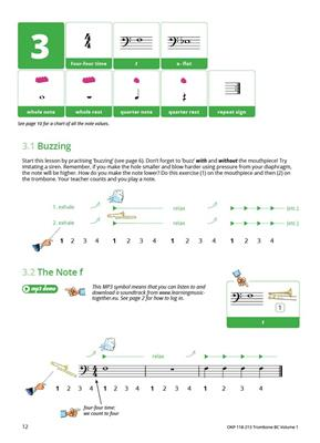 Learning Music Together Vol. 1: Trombone