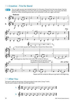 Learning Music Together Vol. 2: Clarinet