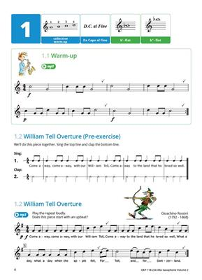 Learning Music Together Vol. 2: Saxophone