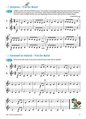 Learning Music Together Vol. 2: Trumpet, Cornet or Flugelhorn