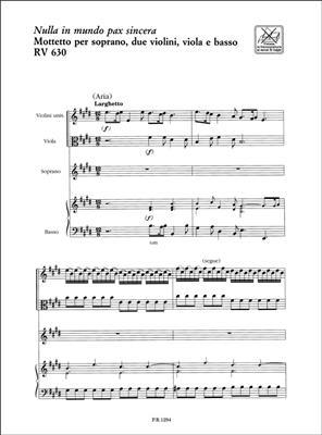 Antonio Vivaldi: Nulla In Mundo Pax Sincera: Soprano
