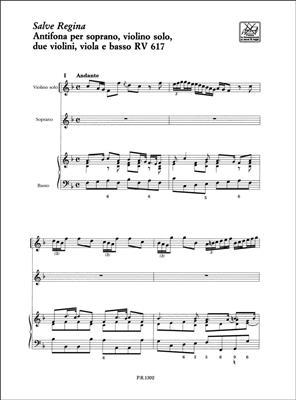 Antonio Vivaldi: Salve Regina Rv 617: Vocal
