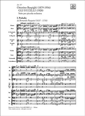 Ottorino Respighi: Gli Uccelli - Trittico Botticelliano: Orchestra