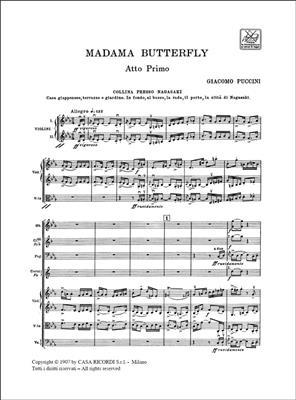 Giacomo Puccini: Madame Butterfly: Opera