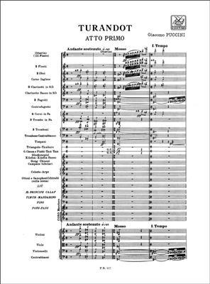 Giacomo Puccini: Turandot: Opera