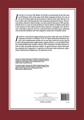 Gioachino Rossini: Il Barbiere di Siviglia: Opera