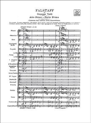 Giuseppe Verdi: Falstaff: Opera