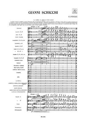Giacomo Puccini: Gianni Schicchi: Opera