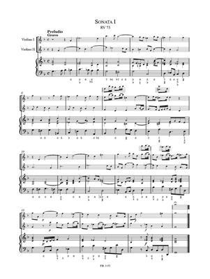 Antonio Vivaldi: Suonate da camera a tre op. I: String Ensemble