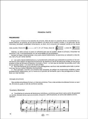 Armonía Tonal, 1 - Teoría y Práctica