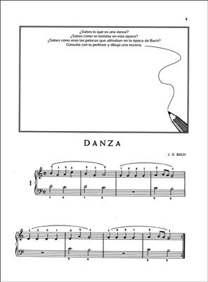 Alicia Zipilivan: De Bach a Stravinsky-Repertorio para principiantes: Piano