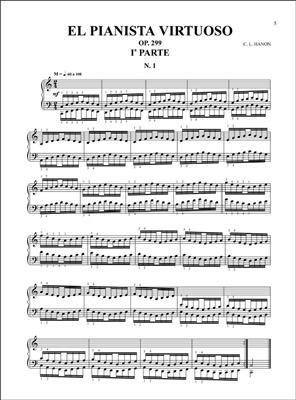 El Pianista Virtuoso, 60 Ejercicios para Piano: Piano or Keyboard