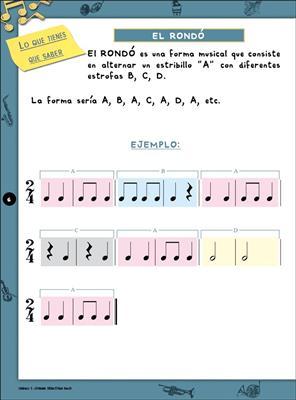 Music & Música, Volumen 4 (Alumno)