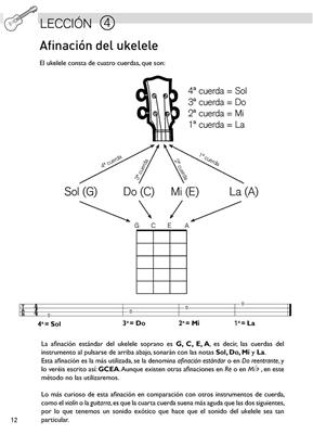 Método fácil de ukelele vol. 1