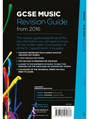 Edexcel GCSE Music Revision Guide: Books on Music