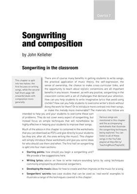 Rhinegold Education: Teaching Music: Practical Strategies for KS3