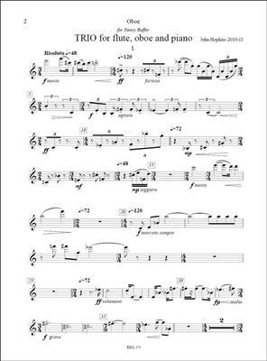 John Hopkins: Trio: Piano Trio