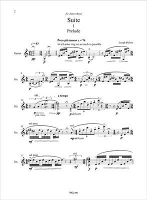 Joseph Phibbs: Guitar Suite: Guitar