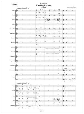 Adam Schoenberg: Finding Rothko: Chamber Orchestra