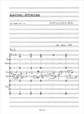 John Hopkins: Elective Affinities: Ensemble