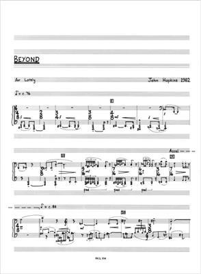 John Hopkins: Beyond: Piano